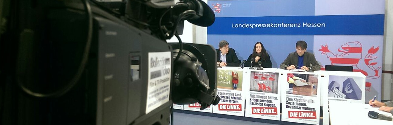 Live-Streaming Pressekonferenz - Die Linke