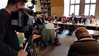 Live-Streaming Pressekonferenz